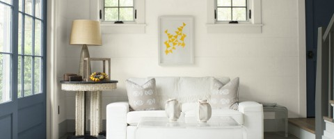 Simply White Living Room